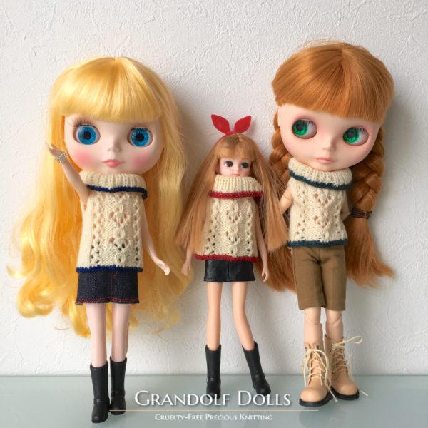 模様編みニット@Grandolf Dolls
