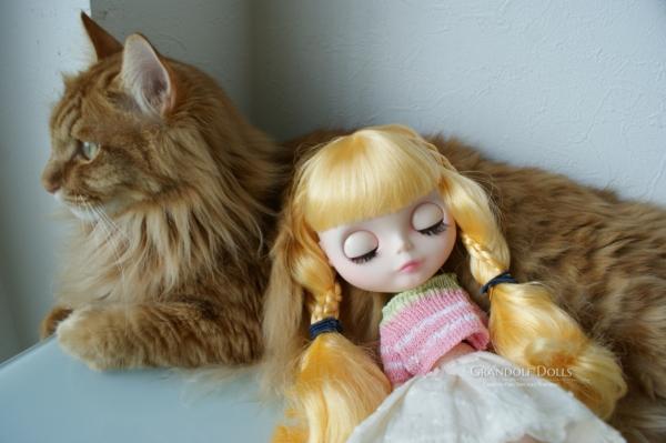 グレちゃん&猫@Grandolf Dolls