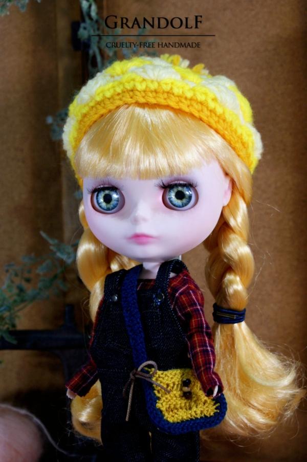 きょうのおぼうし by Grandolf Dolls